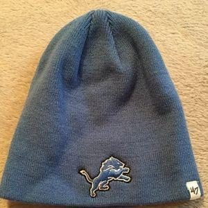DETROIT LIONS NFL YOUTH BEANIE CAP HAT 47 BRAND